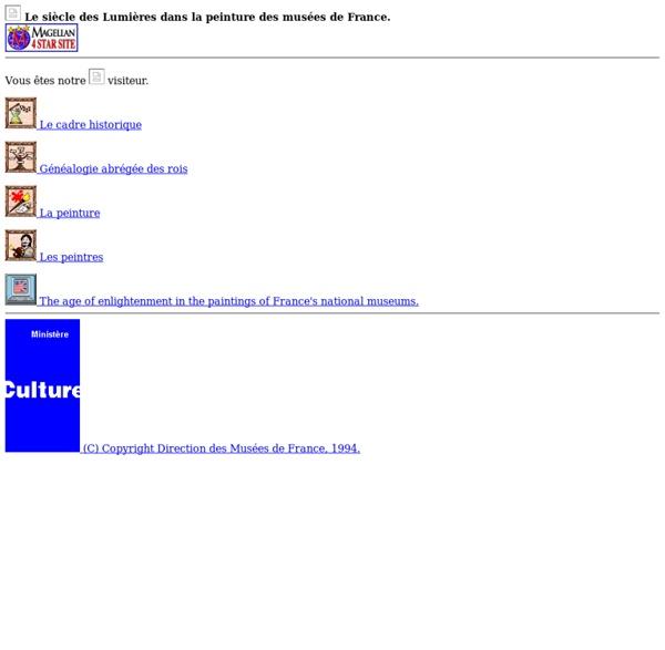 Musée virtuel des peintres des Lumières