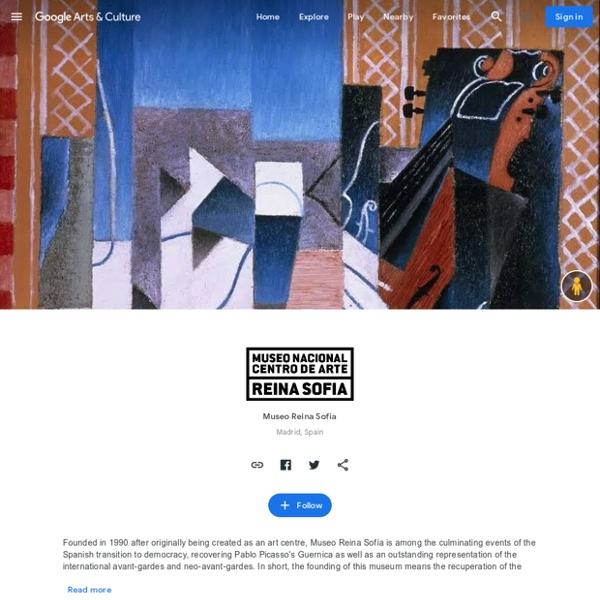 Museo Reina Sofia, Madrid, Espagne : histoire de l'art espagnol, mais aussi histoire de l'Espagne et de l'Europe, et encore : Guernica de Picasso ! Vous pourrez visiter le musée, du Palazio de Velazquèz au Palacio de cristal.