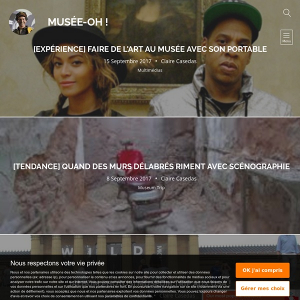 Musée-Oh! Le blog en muséologie