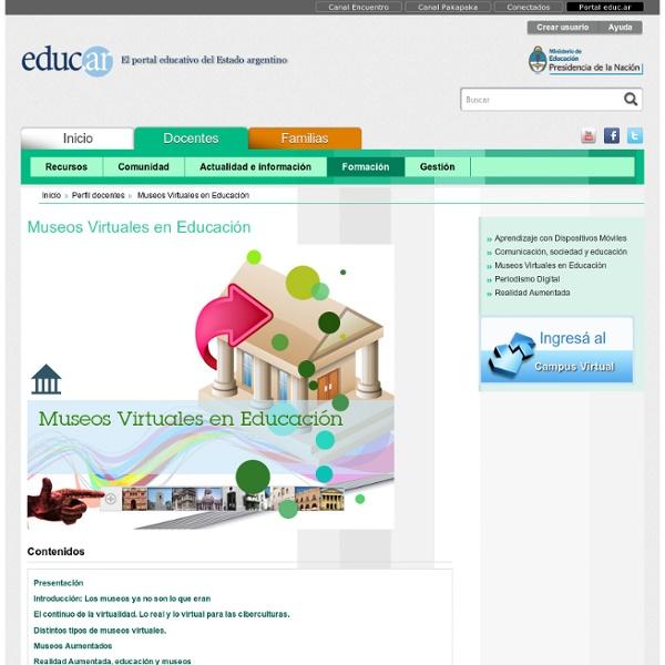 Museos Virtuales en Educación