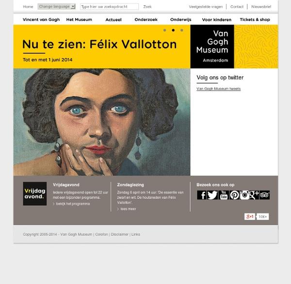 Van Gogh Museum - Homepage