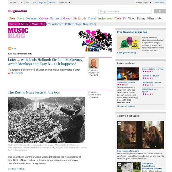 Music blog