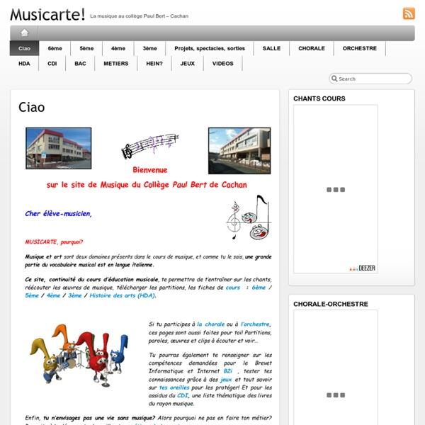 Lewebpedagogique.com/musicarte/
