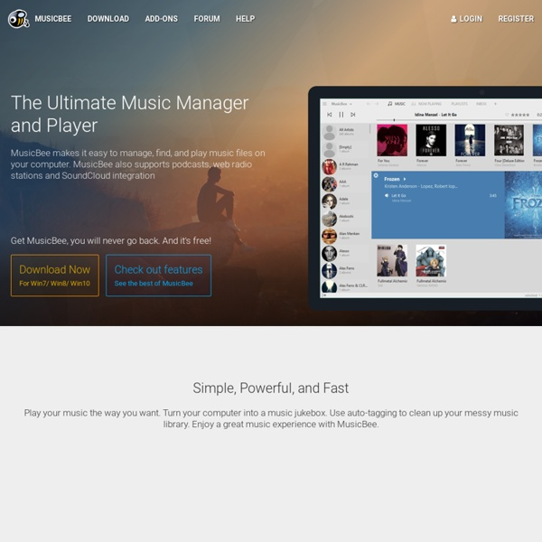 MusicBee - Music Manager and Player