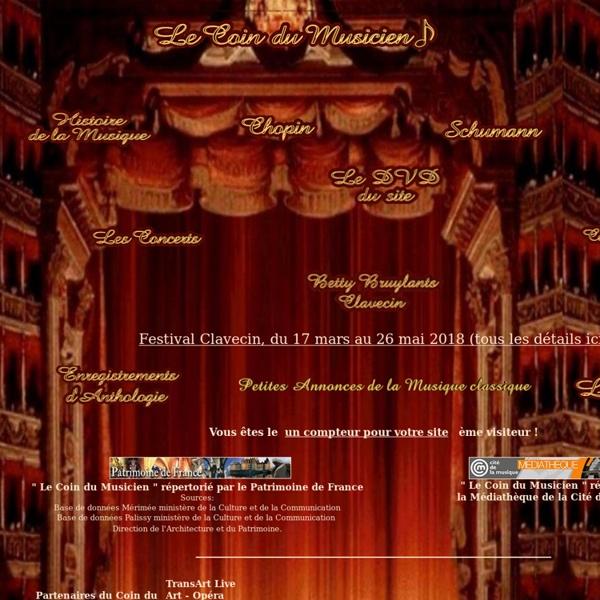 Le Coin du Musicien et de la musique classique