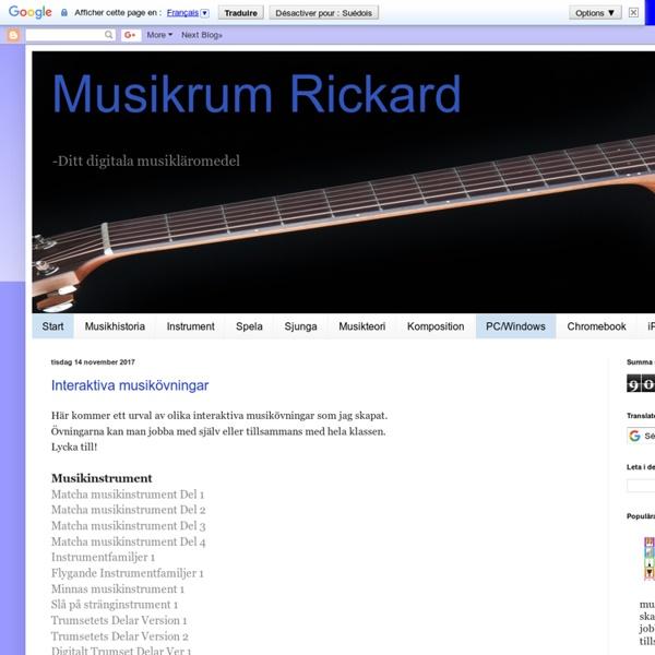 Musikrum Rickard
