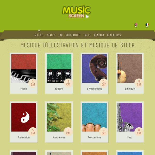 Musique d'illustration et musique de stock