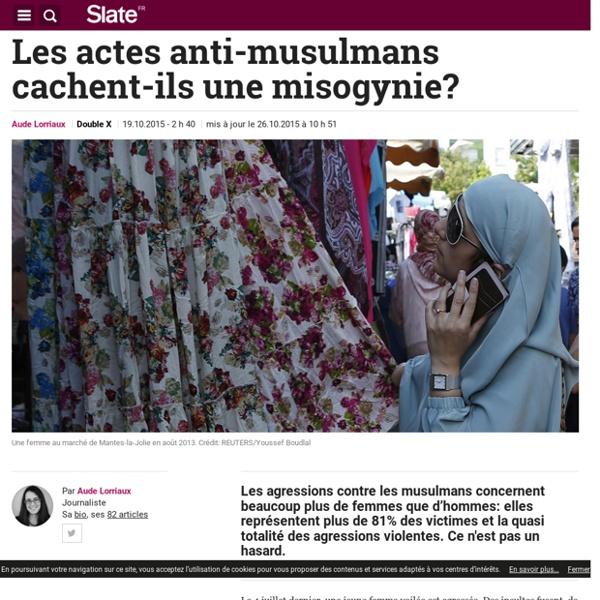Les actes anti-musulmans cachent-ils une misogynie?