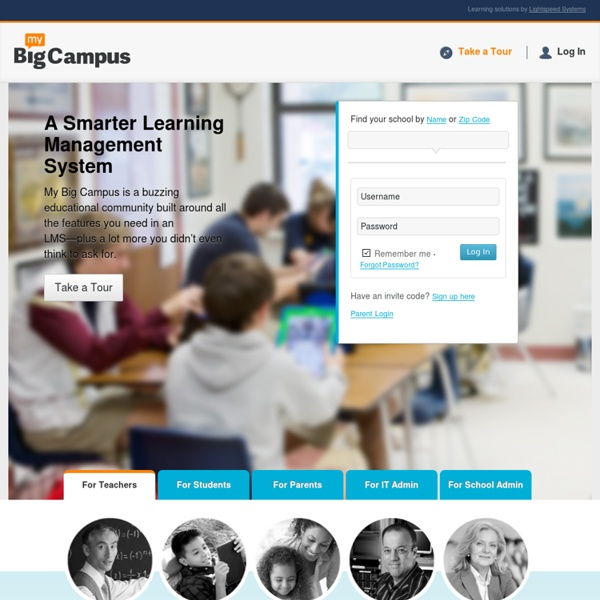 My Big Campus – Connect. Collaborate. Learn.