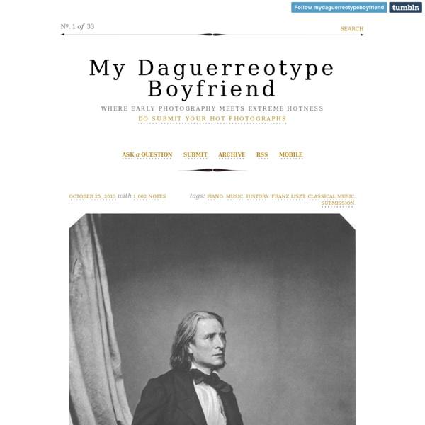 My Daguerreotype Boyfriend