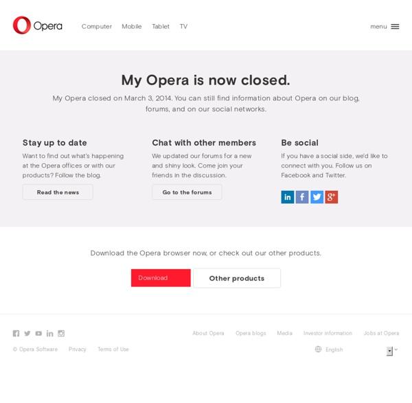 My.opera