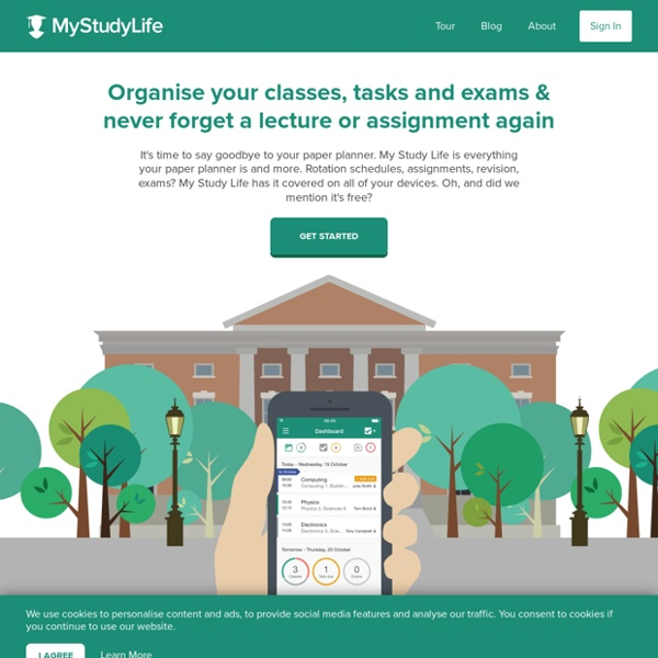 My Study Life - The Free Online Student Planner