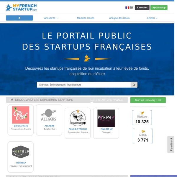 The database startup France
