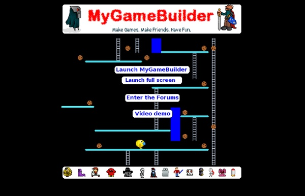 MyGameBuilder: Make & share your own games for free
