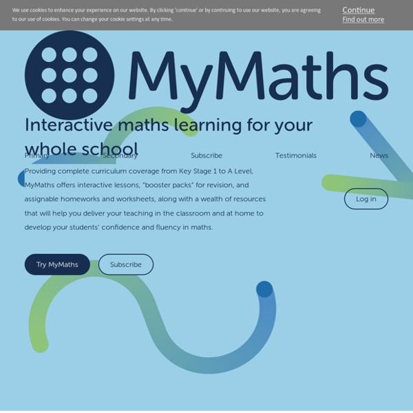 MyMaths - Bringing Maths Alive