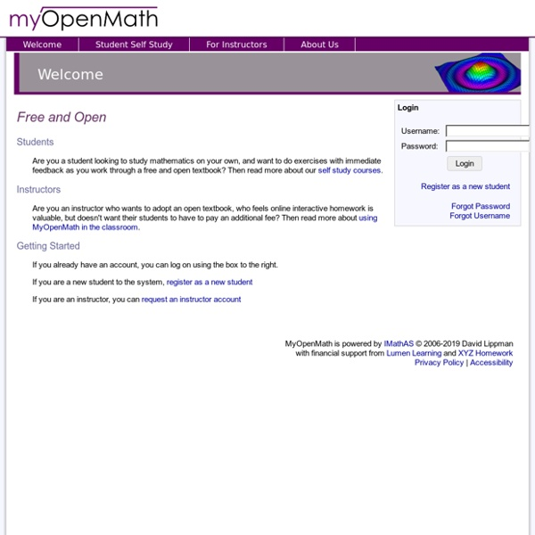 MyOpenMath