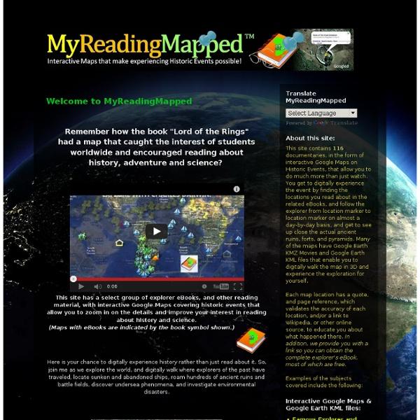 MyReadingMapped™