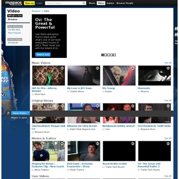 Vidéos Myspace TV - Regarde des millions de vidéos