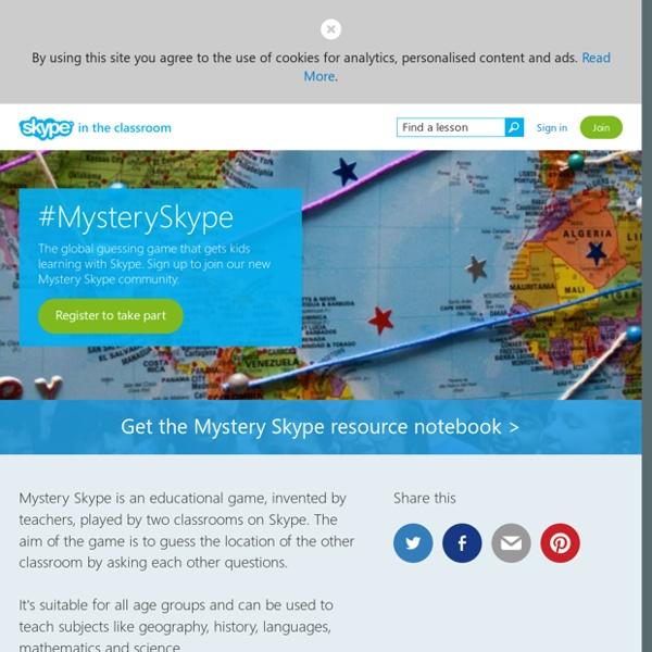 #MysterySkype