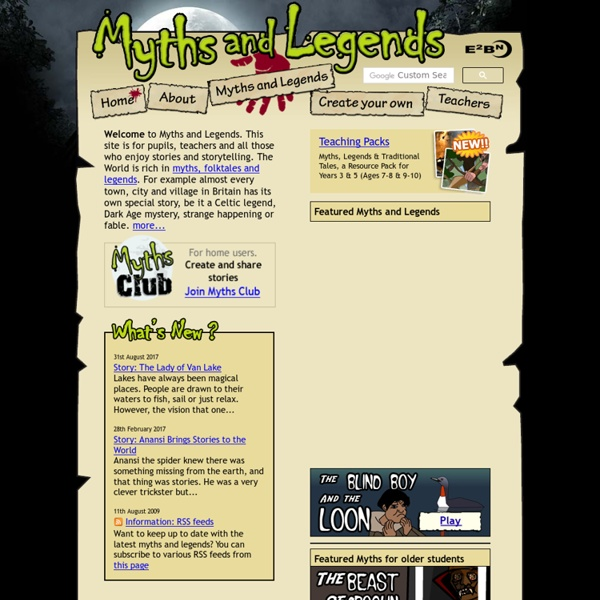 Myths and Legends from E2BN
