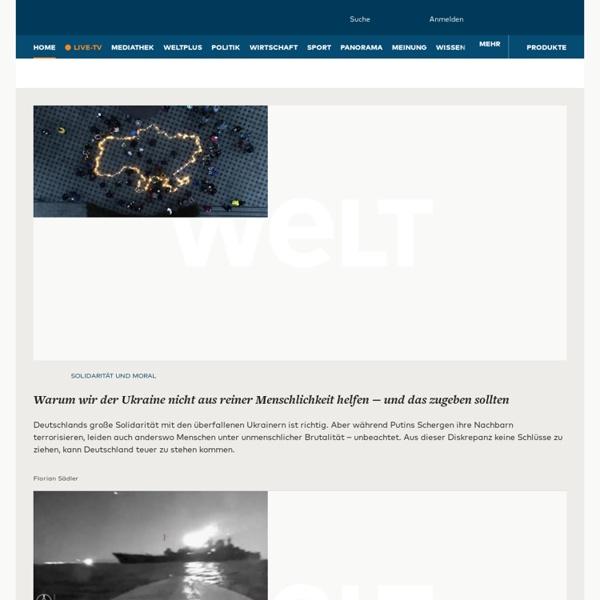 Nachrichten und aktuelle Informationen aus Politik, Wirtschaft, Sport und Kultur