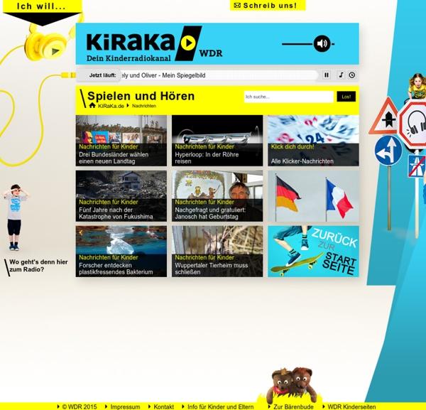 Klicker - Nachrichten für Kinder - KiRaKa - dein Kinderradiokanal