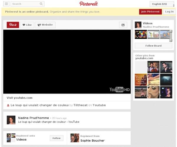 Le loup qui voulait changer de couleur - YouTube