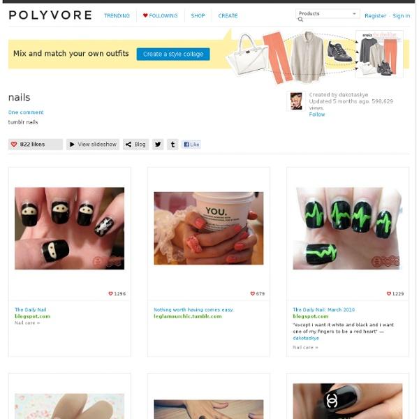 Nails - Polyvore - StumbleUpon