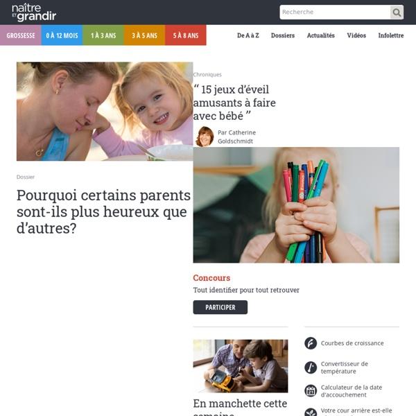 Naître et grandir, site web et magazine