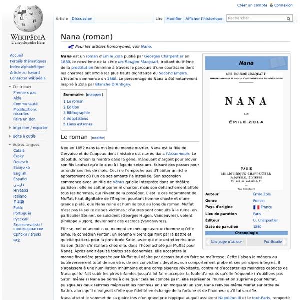 Nana (roman)