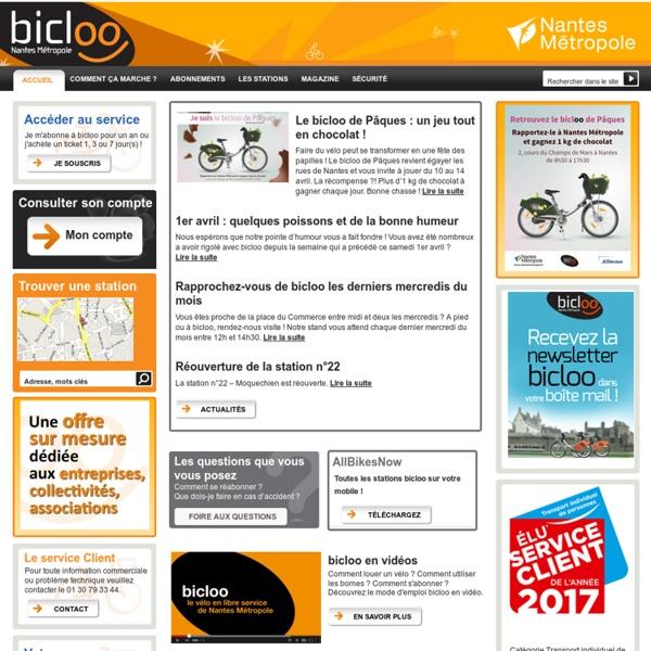 Bicloo - Nantes