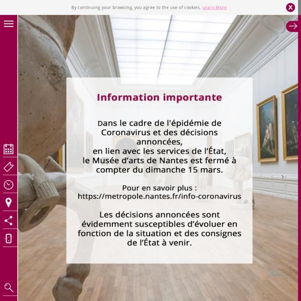 Nantes Museum of fine Arts : Home