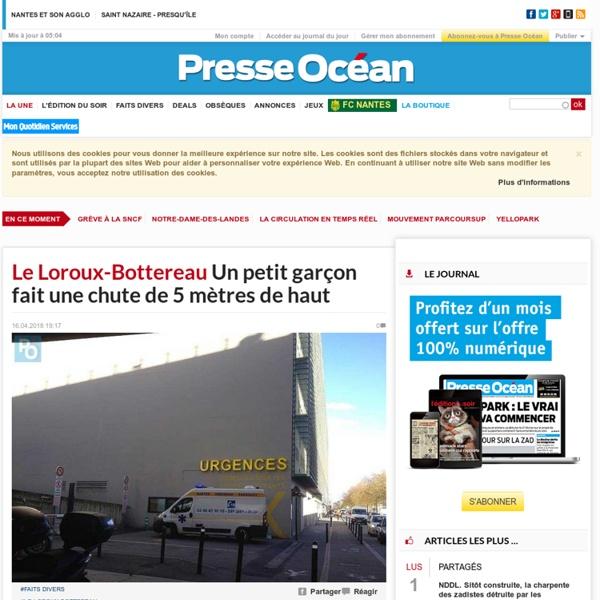 Toute l'info de Nantes Saint-Nazaire Loire-Atlantique