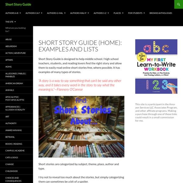List of Short Stories Online