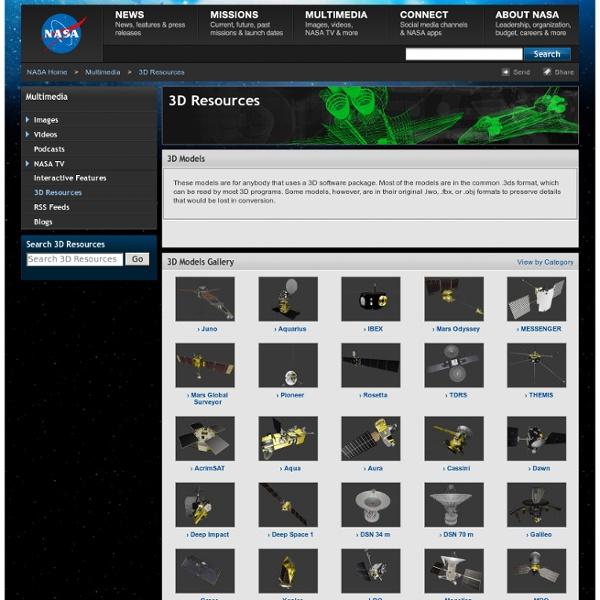 NASA 3D Models