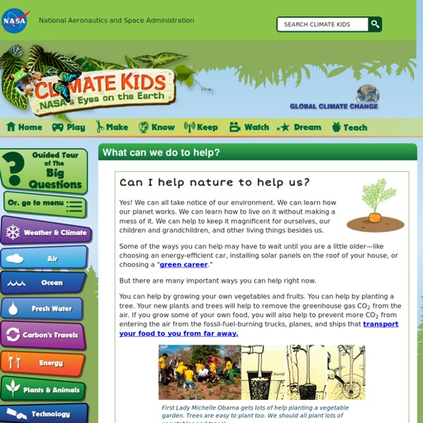 NASA's Climate Kids- (SOLUTIONS)