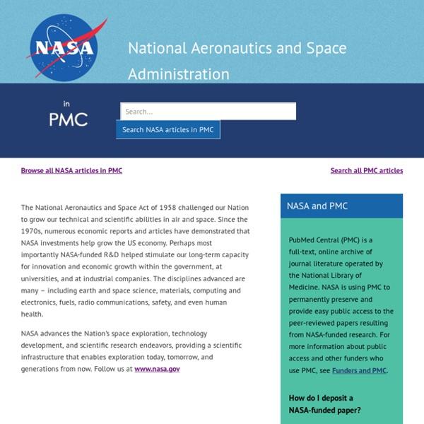 NASA in PMC