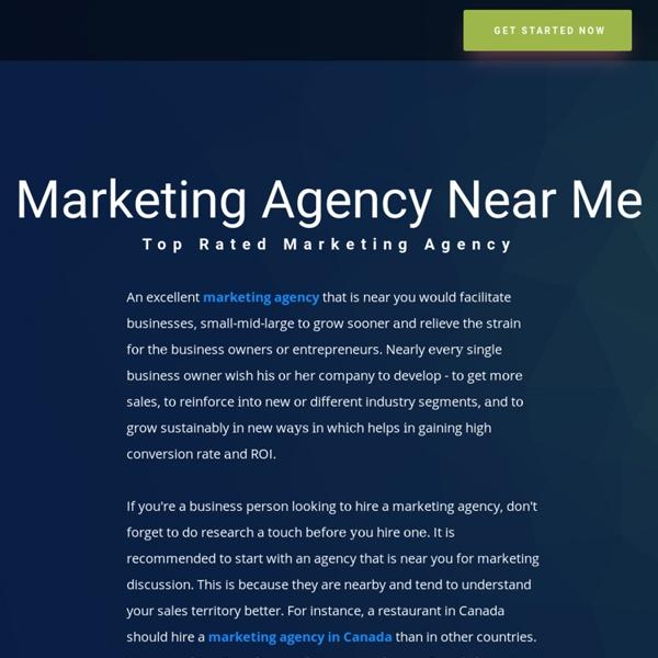Marketing Agency Near Me