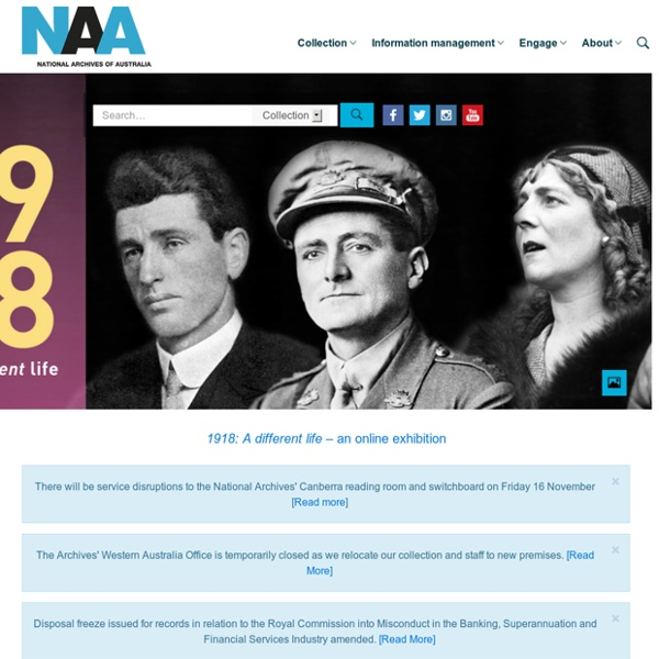 Homepage – National Archives of Australia