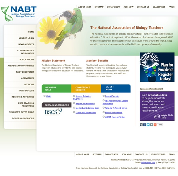 National Association of Biology Teachers