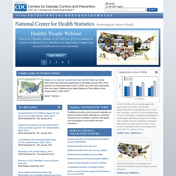 National Center for Health Statistics
