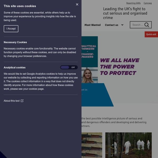 National Crime Agency - Home