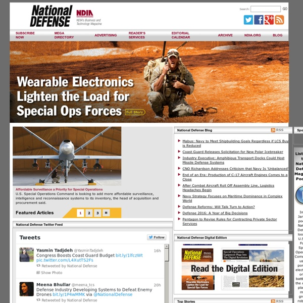 National Defense Magazine
