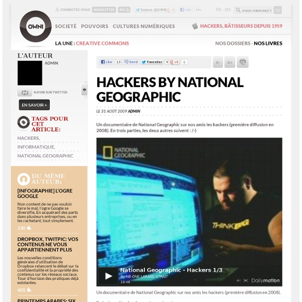 Hackers by National Geographic