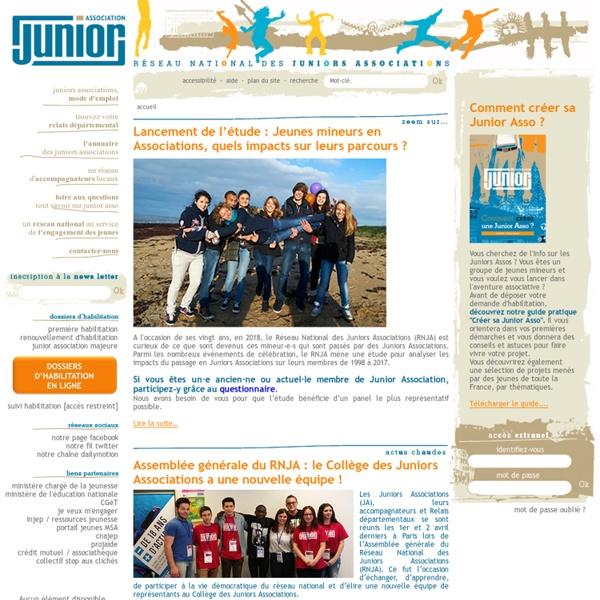 Réseau National des Juniors Associations - Page d'accueil