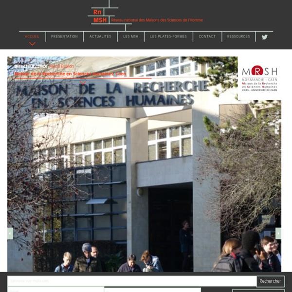 Réseau des Maisons des sciences de l'homme (MSH)