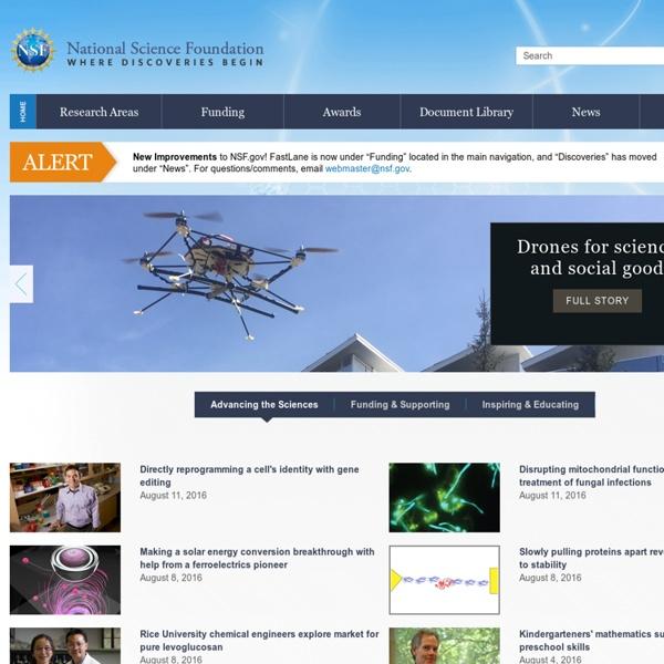 Nsf.gov - National Science Foundation - US National Science Foundation (NSF)
