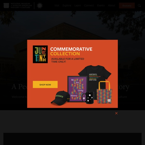 A museum that seeks to understand American history through the lens of the African American experience.