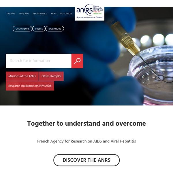 ANRS - Agence Nationale de Recherche sur le Sida et les hépatites virales
