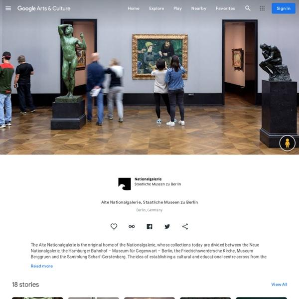 Alte Nationalgalerie, Staatliche Museen deBerlin :l'un des plus beaux musées de la capitale allemande. Retrouvez la visite virtuelle et toutes les collections: Friedrich, Menzel, Manet.
